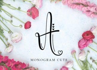 Monogram Cute Font