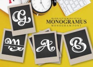 Monogramus Font
