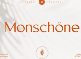 Monschone Luxury font