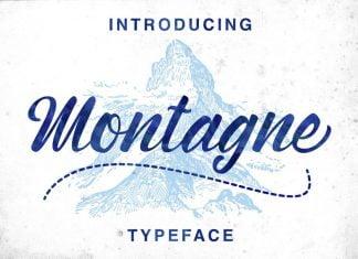 Montagne Typeface Font