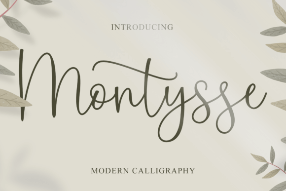 Montysse Font