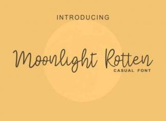 Moonlight Rotter Font