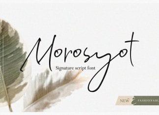 Morosyot Signature Script