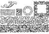 Mortised Vignettes Font