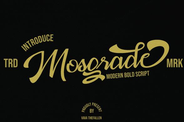 Mosgrade Font