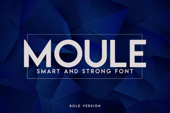 Moule Bold Font