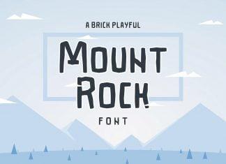 Mountrock Font