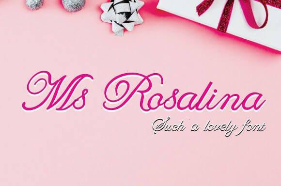 Ms Rosalina Font