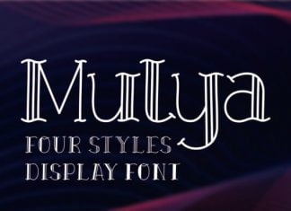 Mulya Font
