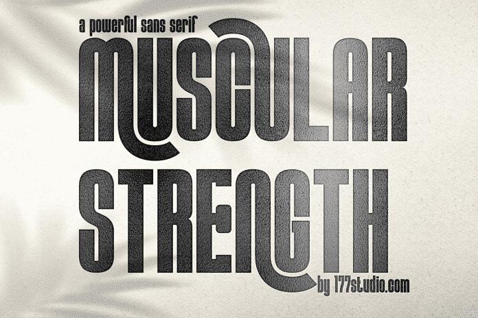 Muscular Strength Font