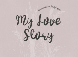 My Love Story Font