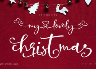 My Lovely Christmas Font
