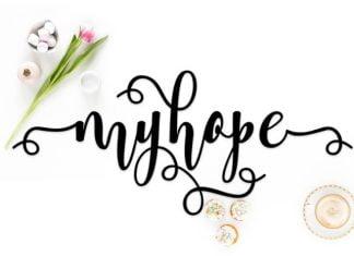 Myhope Font