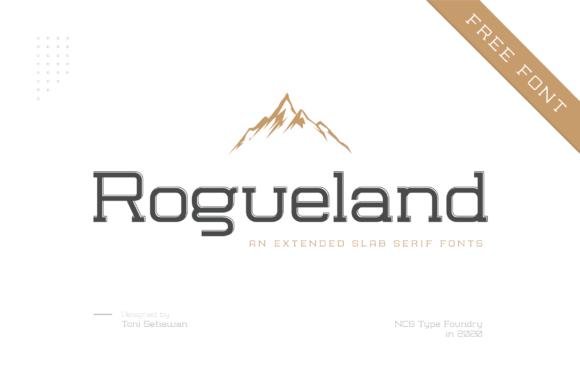 NCS Rogueland - Slab Serif Font