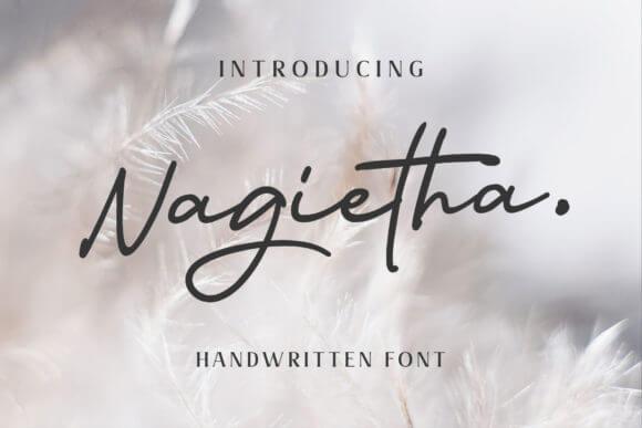Nagietha Font