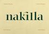 Nakilla Font