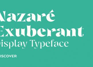 Nazare Exuberant Font