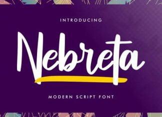 Nebreta Font