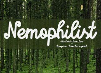 Nemophilist Font