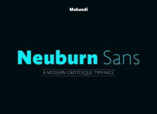 Neuburn Sans Font