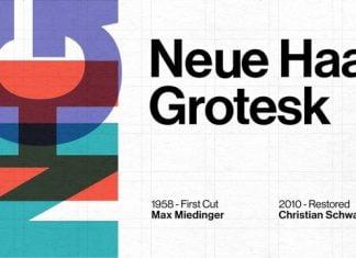 Neue Haas Grotesk Font