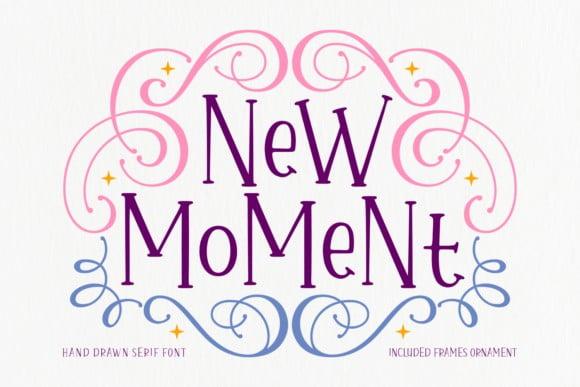 New Moment Font