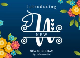 New Monogram Font