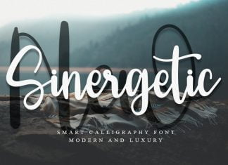 New Sinergetic Font