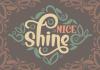 Nice Shine Font