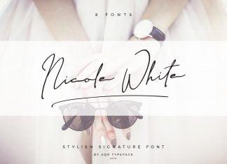 Nicole White Font