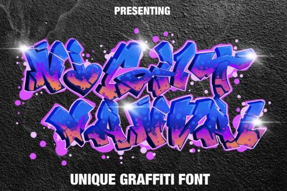 Night Vandal Font