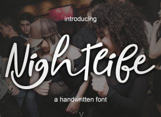 Nightlife Font