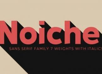 Noiche family Font