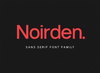 Noirden Family Font