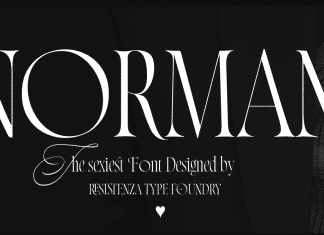 Norman by Resistenza Font