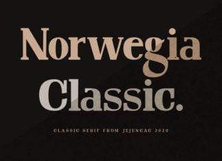 Norwegia Classic Font
