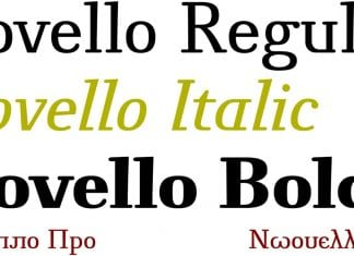 Novello Pro Font Family