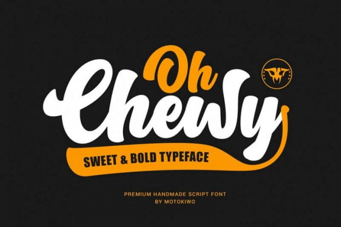 Oh Chewy - Sweet & Bold Script Font