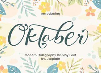 Oktober Font