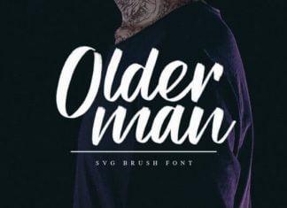 Older Man Font