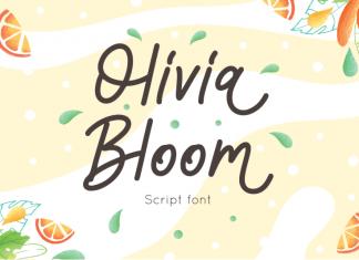 Olivia Bloom Font