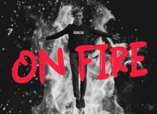 On Fire Font