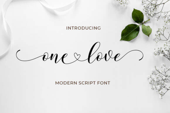 One Love Font