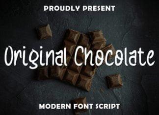 Original Chocolate Font