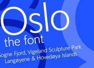 Oslo Font Family