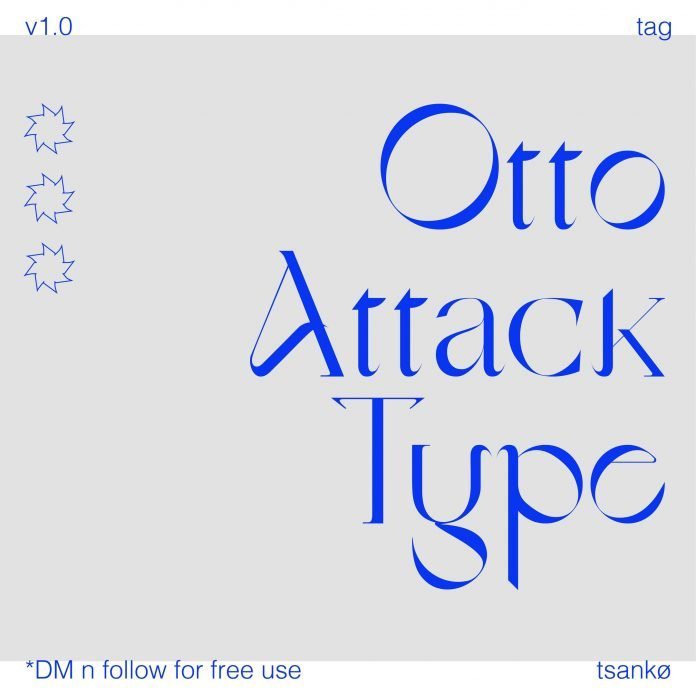 Otto Attack Type Font