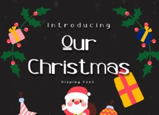 Our Christmas Font