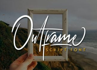 Outframe Font