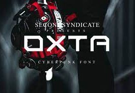 Oxta - Cyberpunk Font