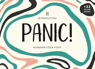 Panic! Fun Font